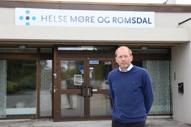 Praksiskonsulent Stian Endresen