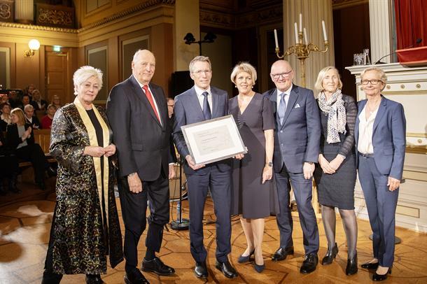 NBCG mottar Kong Olav Vs kreftforskningspris