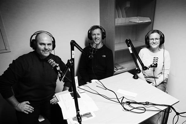 Programleiar Jim Hansen, innovasjonsrådgivar Christer Jensen og prosjektleiar Kathrin Enebakk.