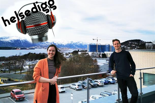 Psykolog Runa Notøy og fagkonsulent Einar Lidbom