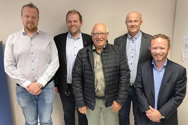 Prosjektgruppa fra Helse Midt-Norge.