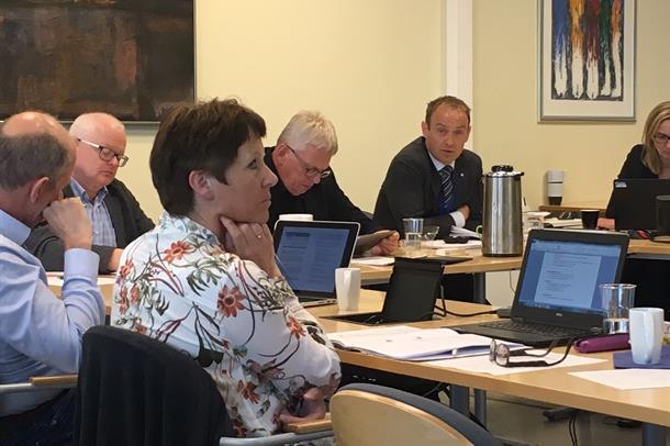 Styremøte i Helse Møre og Romsdal i mai 2017