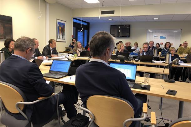Frå styremøtet 24. januar