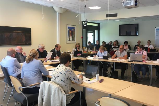 Styremøte i Helse Møre og Romsdal, 30. august 2017