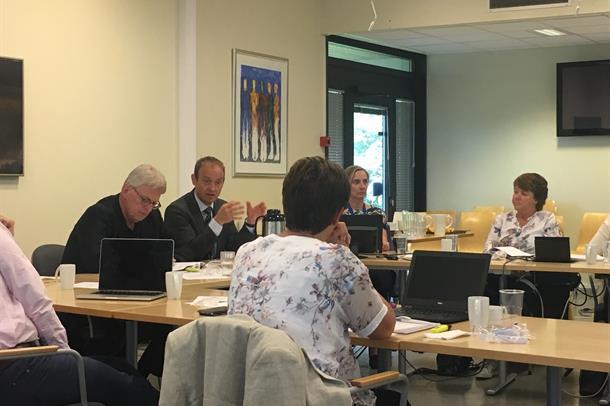 Frå styremøte i juni 2017