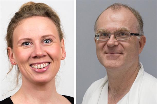 Ny utdanningssjef Guro Berge og ny forskingssjef Dag-Arne Lihaug Hoff.